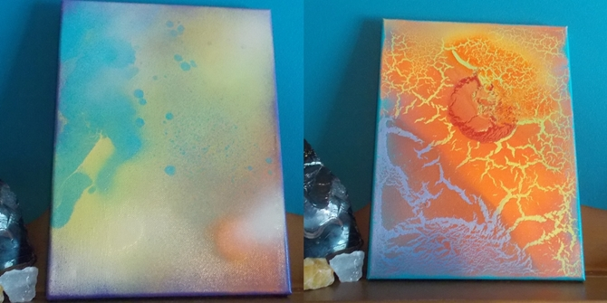 Two Paintings Of Mine